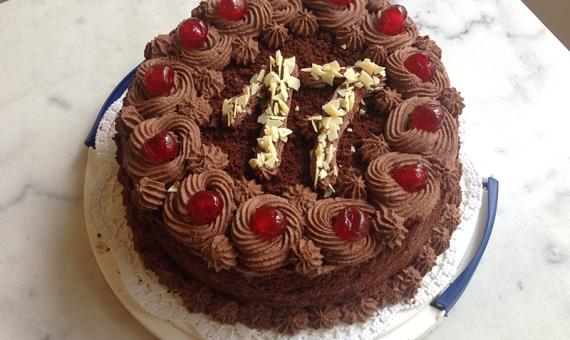 Cake Nata Chocolate